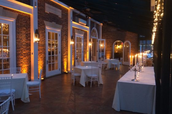 Uplighting Highlands Country Club Wedding