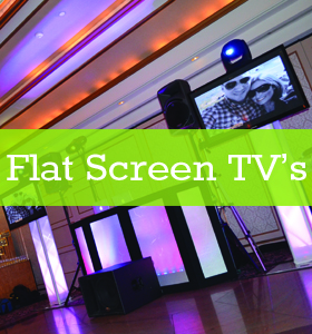 A Perfect Blend Entertainment Flat Screen TV
