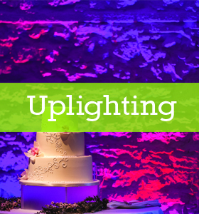 Uplighting - A Perfect Blend Entertainment