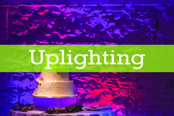 Uplighting- A Perfect Blend Entertainment