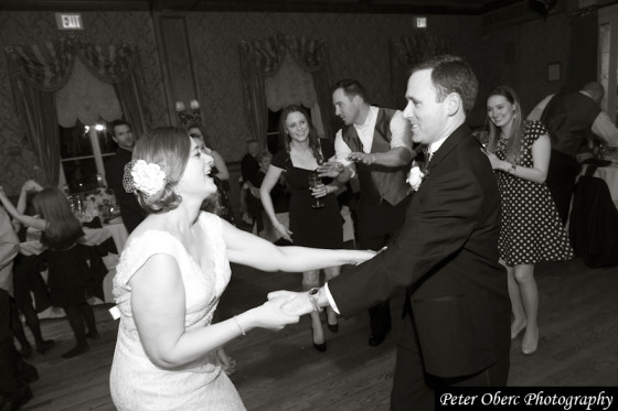 Rowsley Estate Wedding- bride and groom dancing