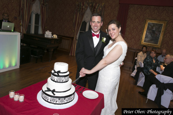 Rowsley Estate Wedding Cake Cutting