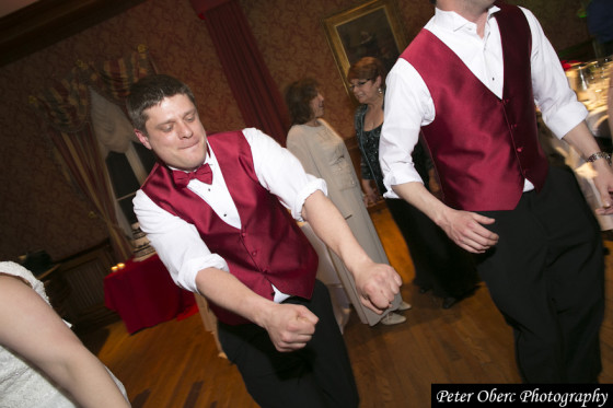 Rowsley Estate Wedding Dancing