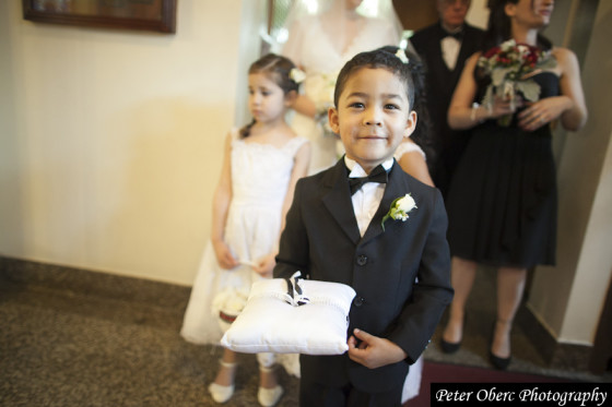 Rowsley Estate Wedding ring bearer