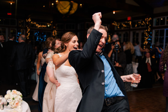 Central Park Boat House Wedding Dancing