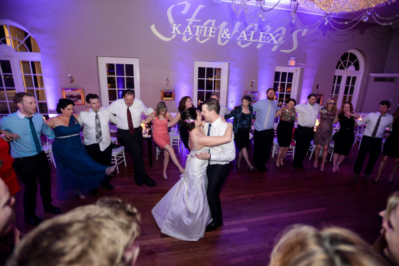 katie-alex-Highlands Country Club dancing