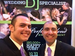 David and Mario wedding show