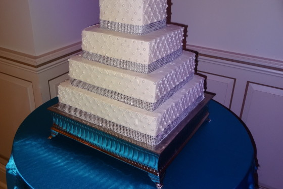 Greentree Country Club Wedding Reception - Cake