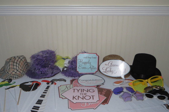 Wedding at the Mansion on Broadway - Photo Booth Props