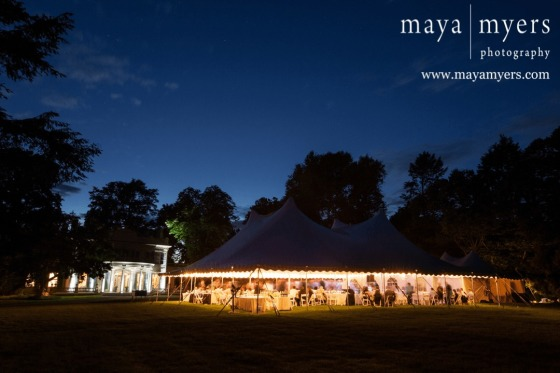 montgomery place tent wedding