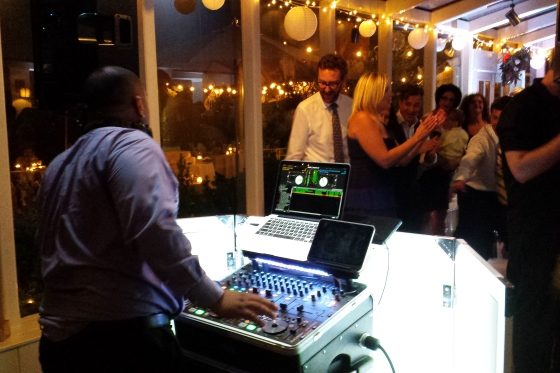 DJ Kittle House Wedding