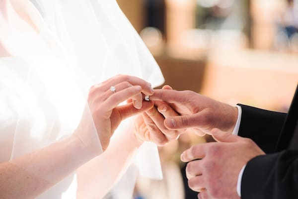 Do I Wear Engagement Ring During Ceremony
