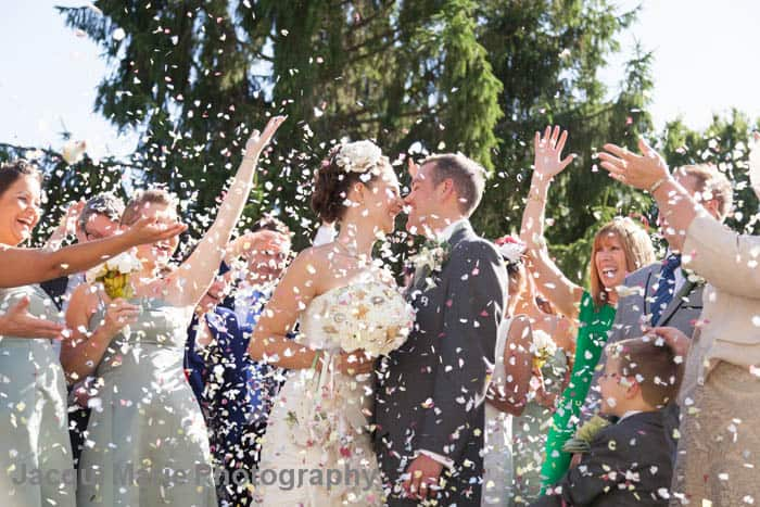 Throwing rice, wedding exit, wedding tradition, Hudson Valley DJ, Wedding DJ Hudson Valley, Westchester DJ, Westchester Wedding DJ, Wedding DJ company, http://www.apbentertainment.com, Great wedding dj, wedding ceremony dj, Photo booth, wedding lighting, wedding uplighting, wedding photo booth, apb entertainment, a perfect blend entertainment dj