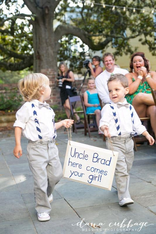 ring bearer sign, Ring bearer, wedding tradition, Hudson Valley DJ, Wedding DJ Hudson Valley, Westchester DJ, Westchester Wedding DJ, Wedding DJ company, http://www.apbentertainment.com, Great wedding dj, wedding ceremony dj, Photo booth, wedding lighting, wedding uplighting, wedding photo booth, apb entertainment, a perfect blend entertainment dj