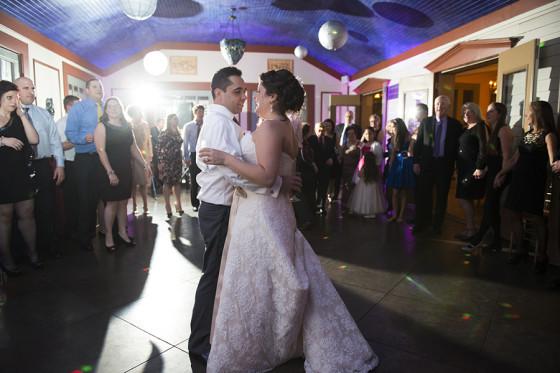 Joanna and Lorenzo dancing
