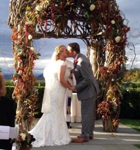 nora binetti - garrison wedding