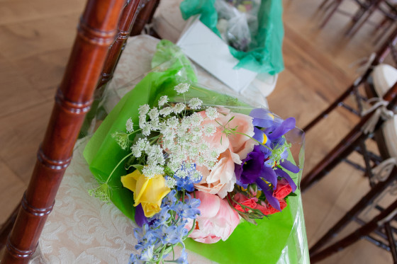 Mandy & Rich's Wedding Flowers at the Rhinecliff Hotel