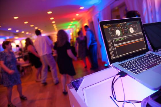 Mandy & Rich's Wedding DJ at the Rhinecliff Hotel