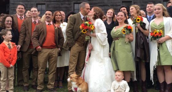 Apple Barn Farm Wedding