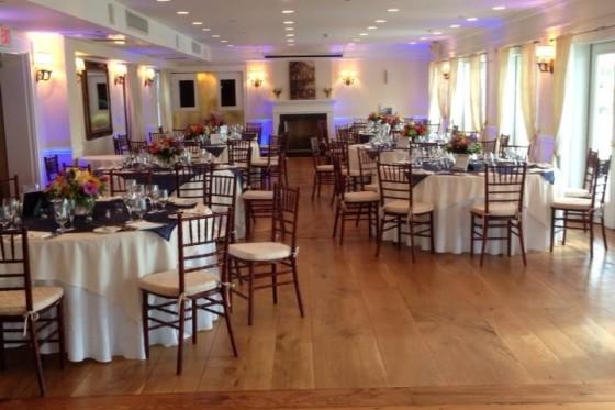 Mandy & Rich's Wedding Reception at the Rhinecliff Hotel