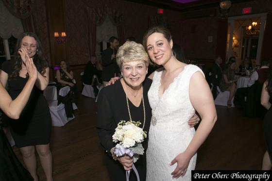 Rowsley Estate Wedding- bride and mother