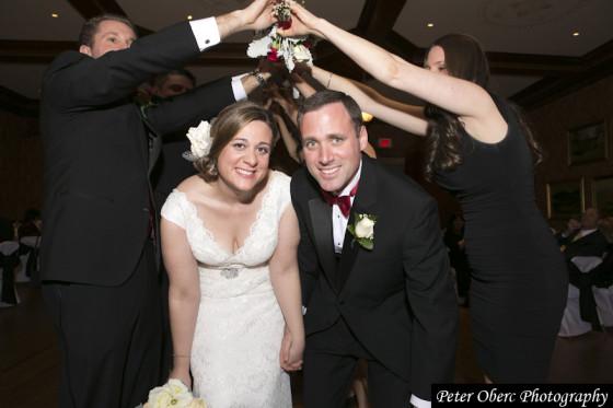 Rowsley Estate Wedding Bride and Groom