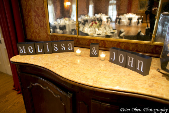 Rowsley Estate Wedding Decor