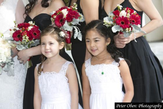 Rowsley Estate Wedding Flower Girls