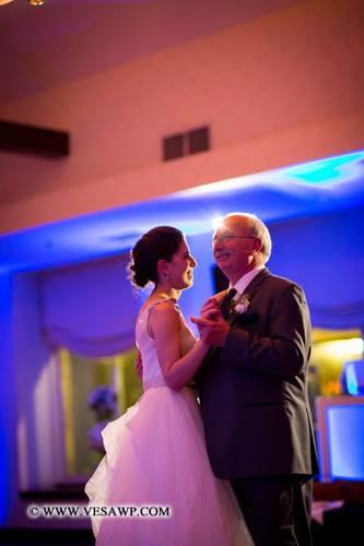 Patriot Hills Wedding Father Daughter Dance