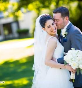 Patriot Hills Wedding Bride and Groom
