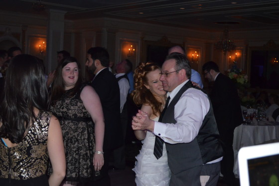 Dancing Jericho Terrace Wedding