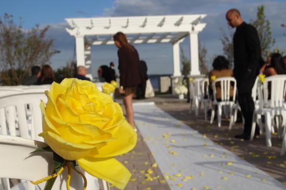 Karolyn and Carlos Greentree Country Club Wedding Ceremony