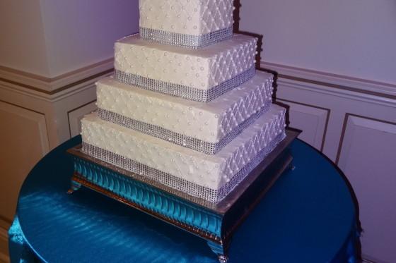 Greentree Country Club Wedding Reception - Cake