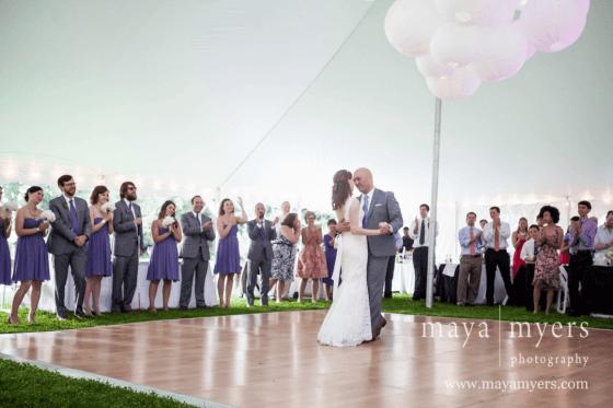 Sarah and Bill wedding