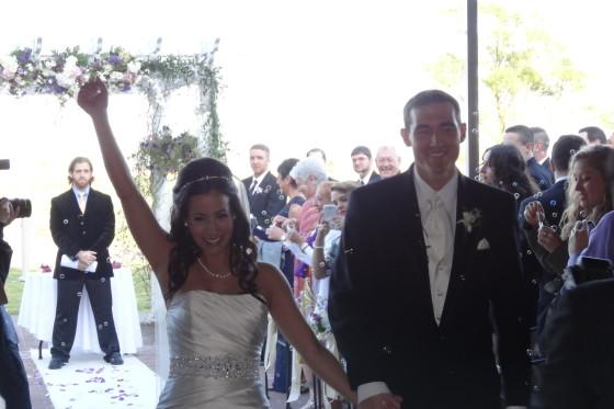 Christina & Jason's Wedding Ceremony - APB Entertainment