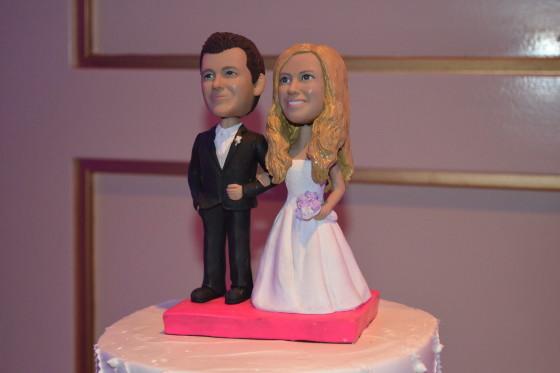 Glen Island Harbour Club Wedding Cake Topper