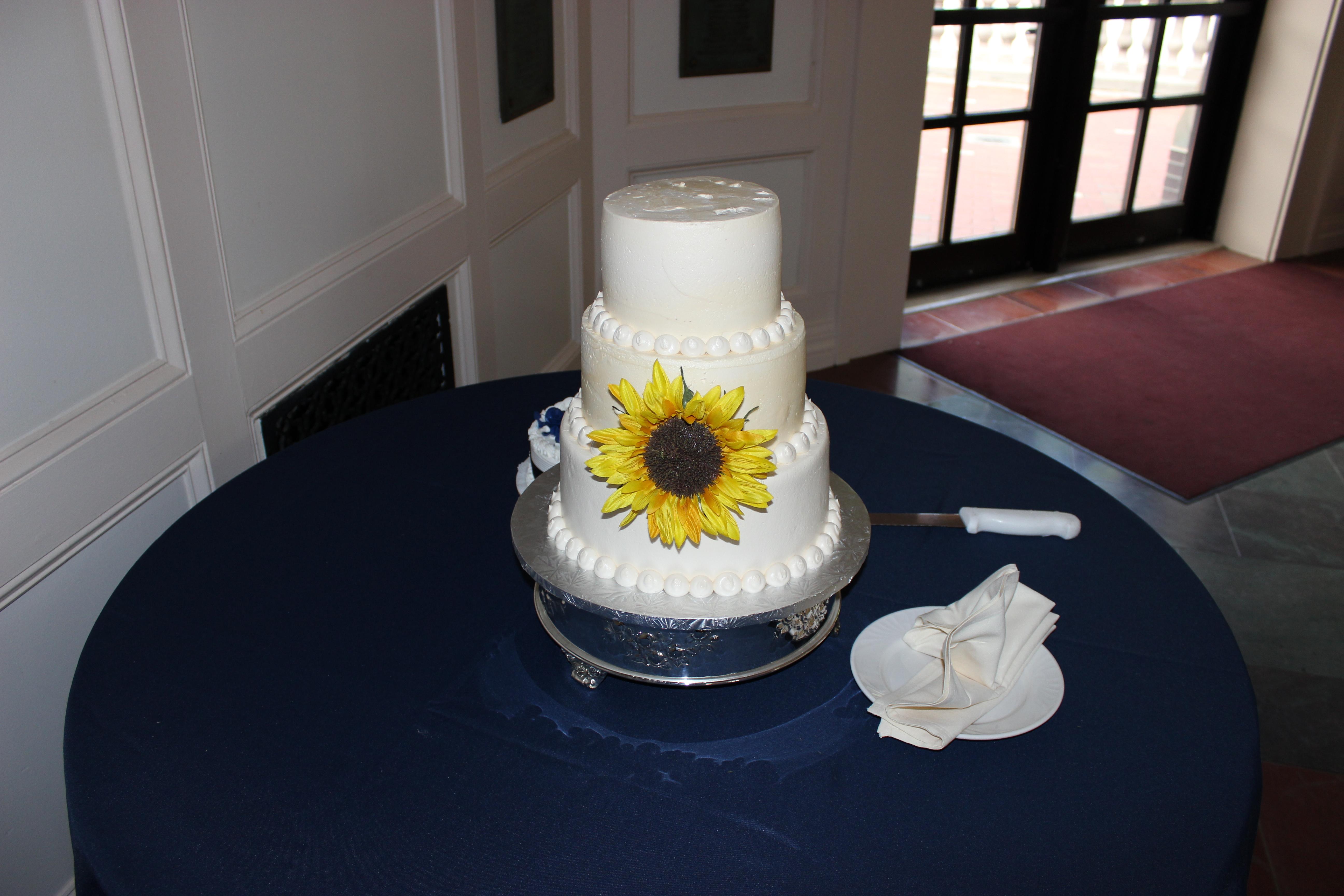 West Point Wedding cake