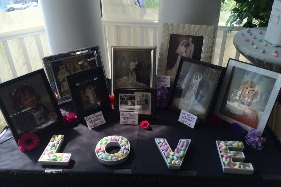 Photo Table Snapper Inn Wedding