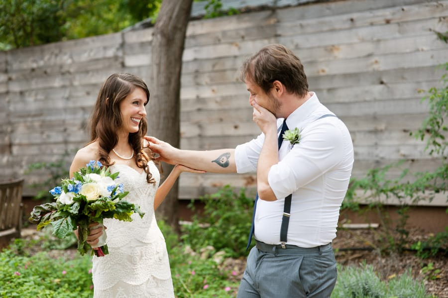 Pros cons of a wedding first look photo credit kristi wright photography junglespirit Gallery
