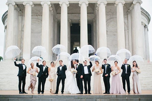 bridal party, umbrellas, Rainy wedding day, wedding rain, Hudson Valley DJ, Wedding DJ Hudson Valley, Westchester DJ, Westchester Wedding DJ, Wedding DJ company, https://www.apbentertainment.com, Great wedding dj, wedding ceremony dj, Photo booth, wedding lighting, wedding uplighting, wedding photo booth, apb entertainment, a perfect blend entertainment dj