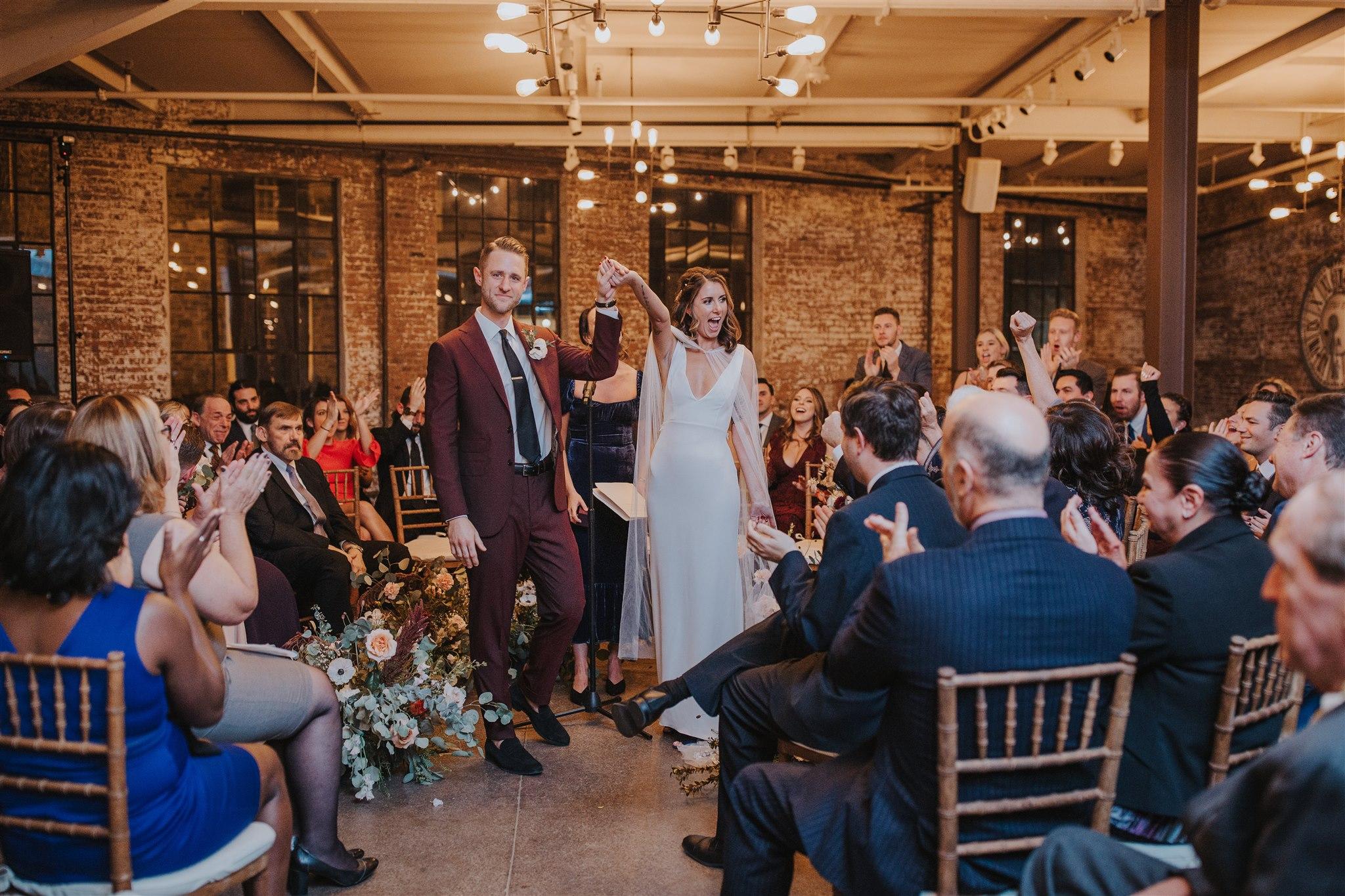 Wedding Ceremony Senate Garage
