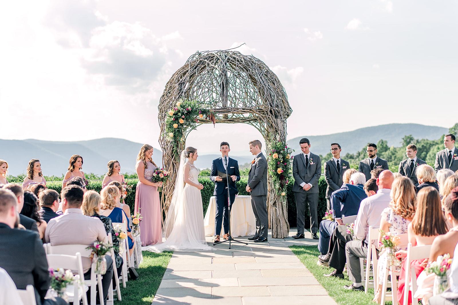 wedding ceremony - the garrison