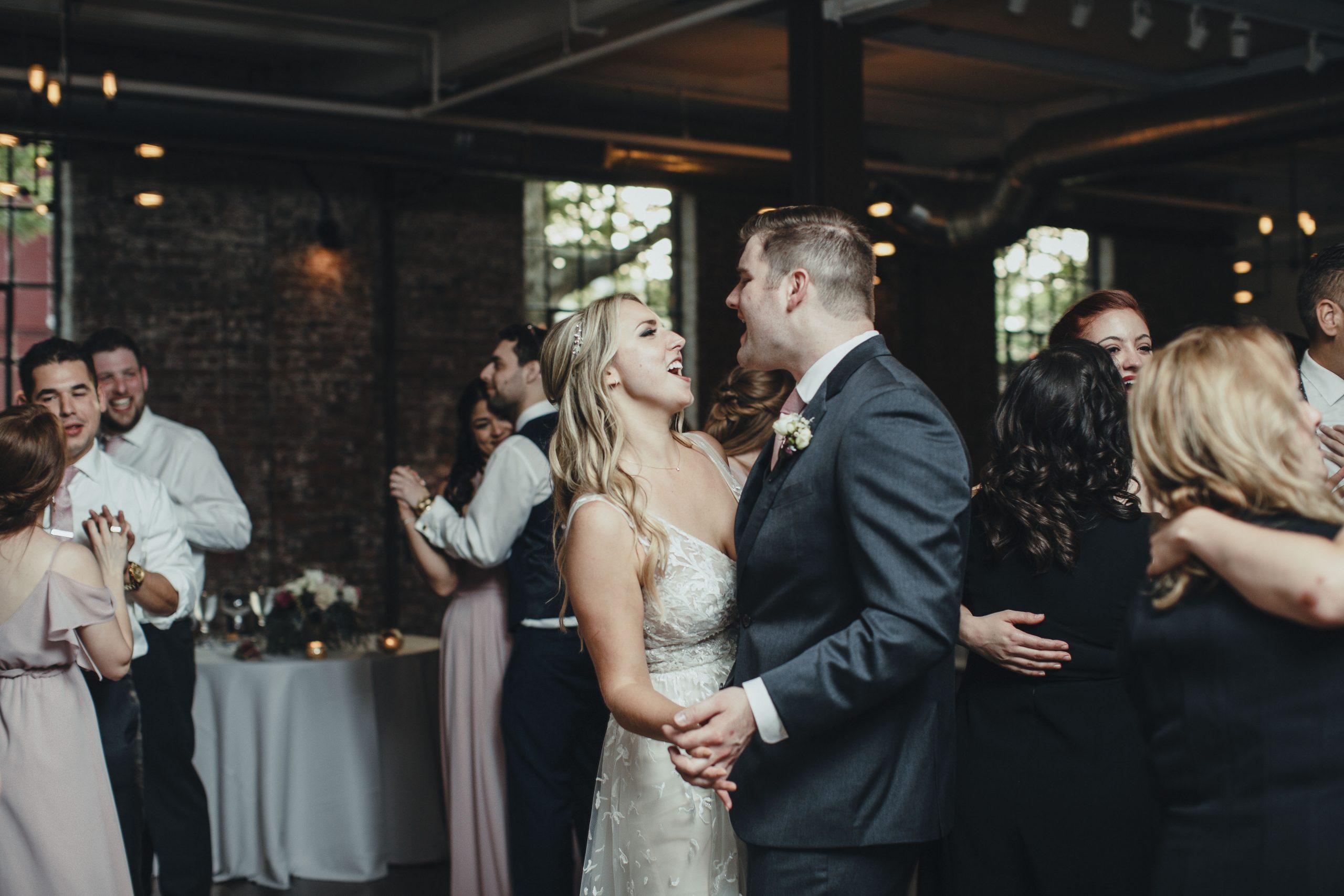 Senate Garage wedding