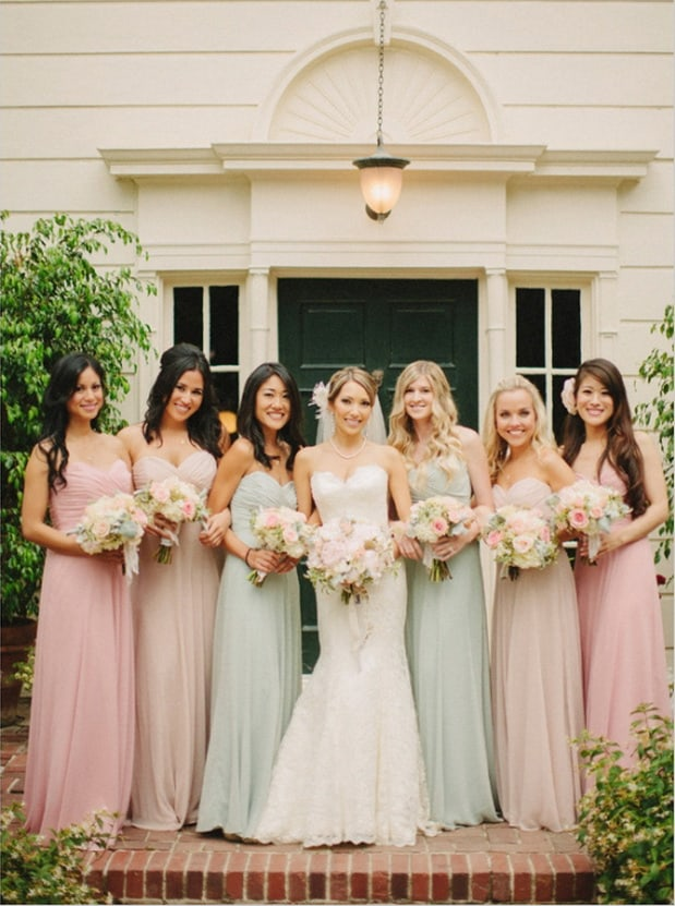 How To: Mismatched Bridesmaid Dresses -