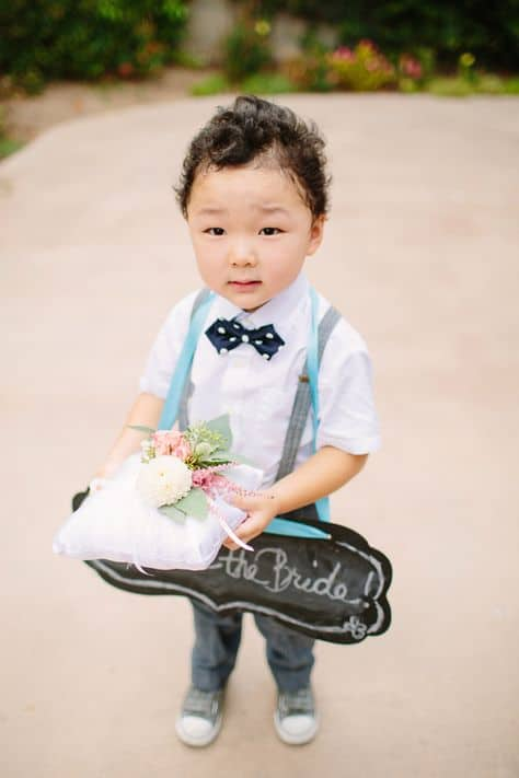 wedding traditions - ring bearer